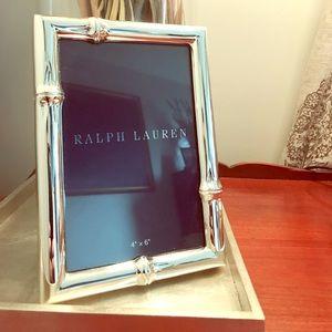 Ralph Lauren 4x6 photo frame